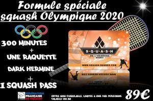 Le club relance sa formule Squash Olympique 2020